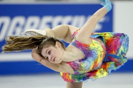 Российская фигуристка Медведева победила на этапе Гран-при в США